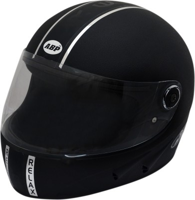 ABP RELAX WITH PC UNBREAKABLE VISOR Motorbike Helmet - L