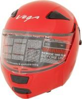 Vega Boolean Motorsports Helmet(Red)