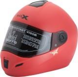 Steelbird Rox Solid Red Motorbike Helmet...