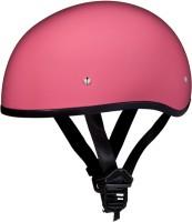 Daytona Skull Cap without Snap Motorsports Helmet(Gloss Pink)