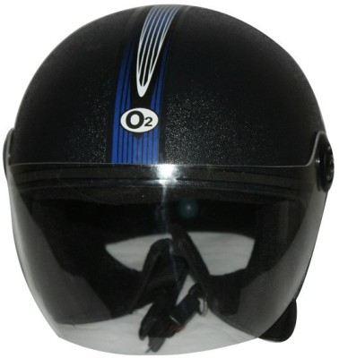 TWP Royal Half Face Motorbike Helmet - L