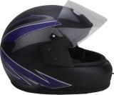 Stranger rayena Motorbike Helmet (blue-b...
