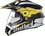 Steelbird 42Airborne Motorbike Helmet (M...
