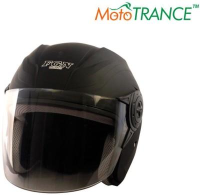 Mototrance FGN Open Face Motorbike Helmet - L