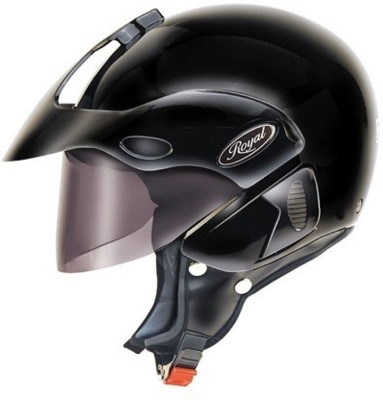 Formulate Formulate Royal (Solid Black) Motorbike Helmet - M