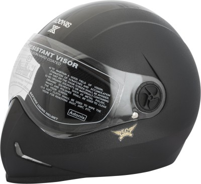 Steelbird SB-50 Adonis X Motorbike Helmet - L(Black)