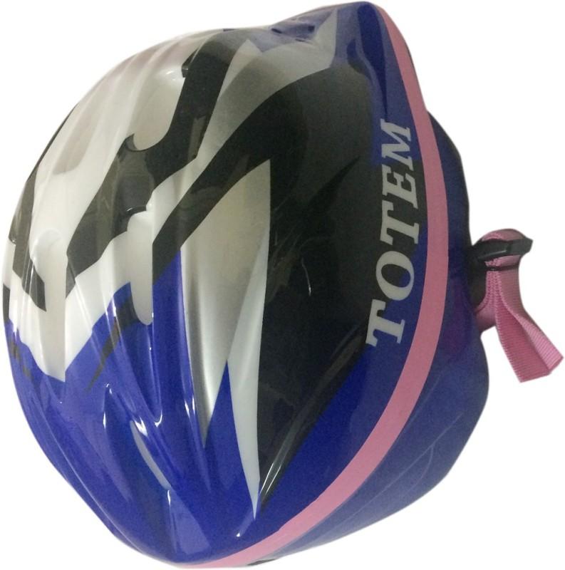 spofit TOTEM Skateboarding, Cycling, Skating, Polo, Baseball, Camping & Hiking Helmet(Blue)