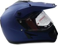 Vega Off Road D/V Motorbike Helmet - M(Dull M Blue)