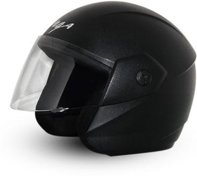 Vega Ridge Black Helmet Motorsports Helmet - M