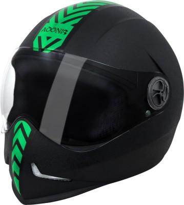 Steelbird SB 50 Adonis Dashing Motorbike Helmet - L(Black)