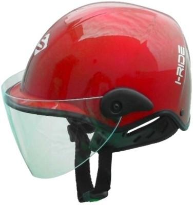 Saviour I-Ride Glossy Unisex - Clear Visor Motorbike Helmet - M