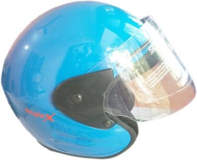 Speedking Stallion Stylex SkyBlue Motorbike Helmet - M