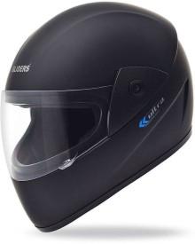 Gliders Ultra Plain Motorbike Helmet - M