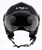 Vega VERVE Motorsports Helmet - M(Dull Black)