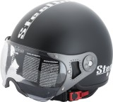 Steelbird SB-27 mat. Black Motorbike Hel...