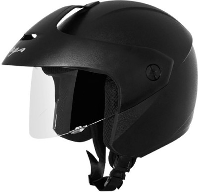 Vega Vega�Ridge With Peak Black Helmet Motorsports Helmet - M
