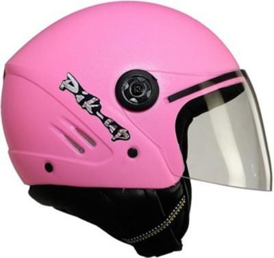 Pik-Up Half Face ISI Pink Motorbike Helmet - M