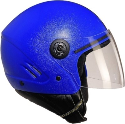 Stallion. Half Face ISI  Motorbike Helmet - M