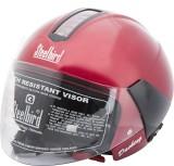 Steelbird SB-35 Cherry Red Motorbike Hel...