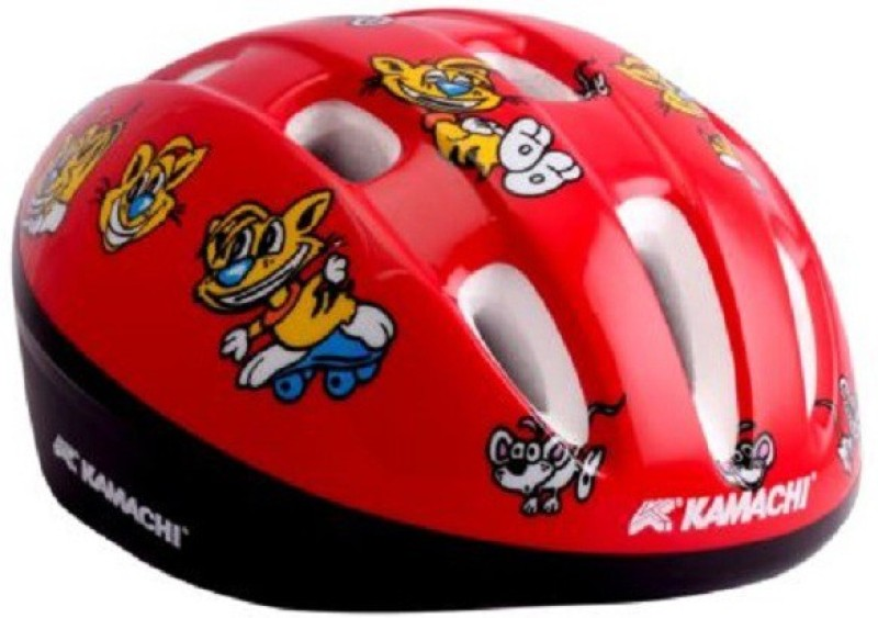 Kamachi Cycling & Skateboarding Helmet(Red)