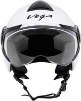 Vega VERVE Motorsports Helmet - M(White)
