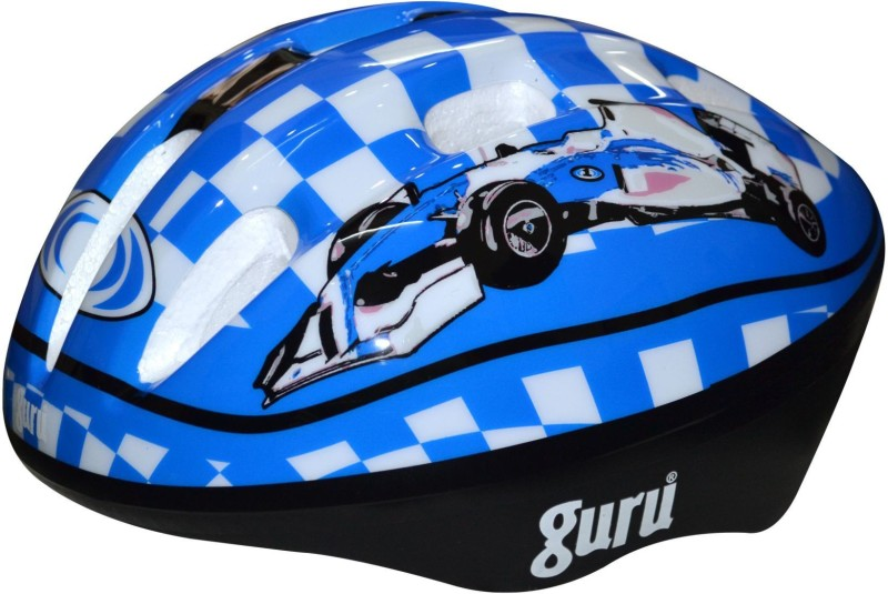 Guru Small Skating Helmet(Blue, Car)