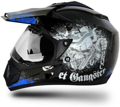 Vega Off Road D/V Gangster Motorbike Helmet - M