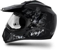 Vega Off Road Sketch Motorbike Helmet - M