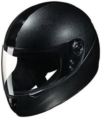 Deletion Black Chrome ISI Motorbike Helmet - L