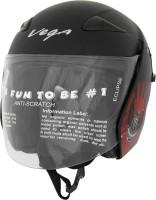 Vega Eclipse Monster Army Motorsports Helmet - M(Red, Dull Black)