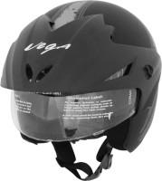 Vega Cruiser W/P Arrows Motorsports Helmet - M(Dull Black, Silver)