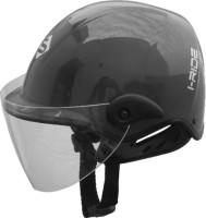 Saviour I-Ride Glossy CV Unisex Motorbike Helmet(Grey)