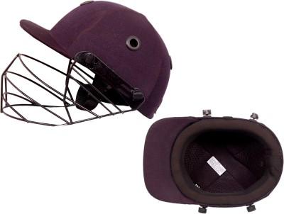CE Sigma Platinum Cricket Helmet - L(Black)