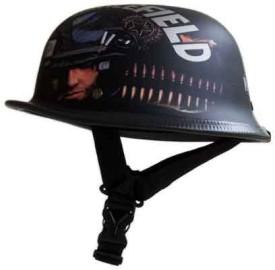 Gliders German Motorbike Helmet - M