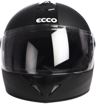 Format Ecco Black Motorbike Helmet - M