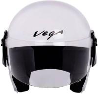 Vega CRUISER Motorbike Helmet - M(White)