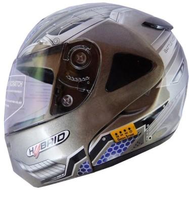 GREEN STONE Machine War Bluetooth Motorbike Helmet - L