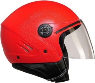 Speedking Sat-Red Motorbike Helmet - M