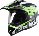 Steelbird Airborne Motorbike Helmet (Mat...