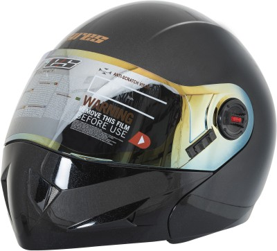 Steelbird Ares A1 Glossy with extra visor Motorbike Helmet - L