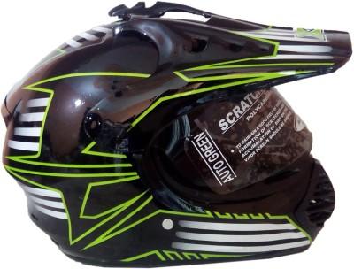 Autogreen Sports Full Face ISI Motorbike Helmet - M