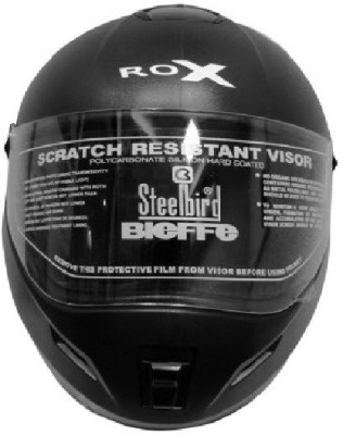Steelbird Rox Helmet Motorbike Helmet - L