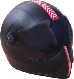 TECH YUG RUN BLACK Motorbike Helmet - L