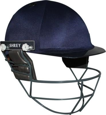 Shrey Junior with Mild Steel Visor Cricket Helmet - XS(Navy)