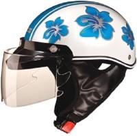 Studds Troy Happy Motorbike Helmet(Happy Blue)