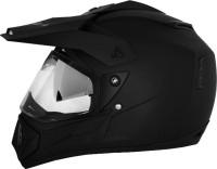 Vega Off Road D/V Motorsports Helmet - L(Dull Black)