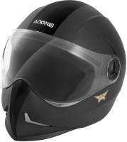 3ba0aded Steelbird Adonis Classic Full Face Helmet (Black, L)@849 Rs [Mrp ...