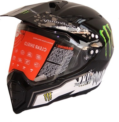 WLT 128 MONSTER Motorbike Helmet - XL
