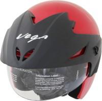 Vega Cruiser W/P Motorsports Helmet - M(Red)