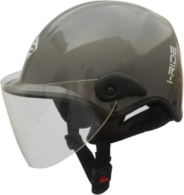 Saviour I-Ride Unisex Glossy Motorbike Helmet - M